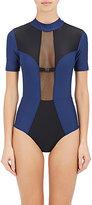 Chromat Women's Colorblocked Short-Sleeve Wetsuit