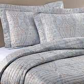 Bellino Fine Linens® Paisley King Pillow Sham in Blue