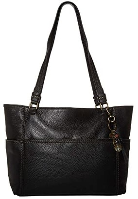 The Sak Sequoia Tote (Black) Handbags