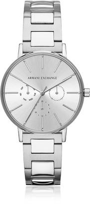 Armani Exchange Lola Stainless Steel Chronograph Women's Watch