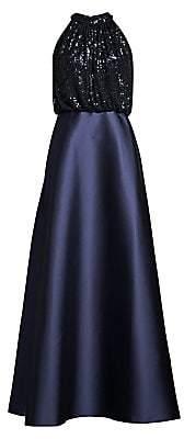 Sachin + Babi Women's Patricia Sequin Bodice Ball Gown