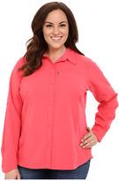 Columbia Plus Size Silver RidgeTM L/S Shirt