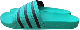 adidas Green Rubber Sandals