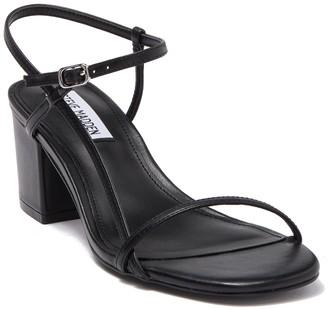 Steve Madden Idea Leather Block Heel Sandal
