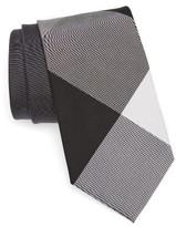 Burberry Men's Clinton Check Silk & Cotton Tie