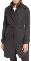 Ellen Tracy Women's Waterproof Trench Coat With Removable Vest