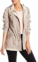 Rachel Roy Two-Tone Double Hem Anorak