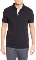 Bobby Jones Men's Solid Pique Golf Polo