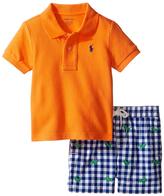 Ralph Lauren Resort Orca Polo & Grasshopper Shorts - Infant
