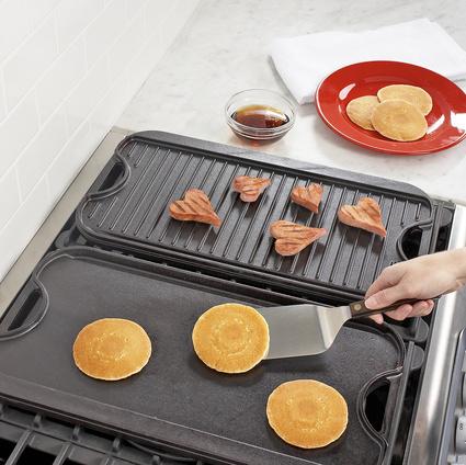 Sur La Table Lodge Logic™ Rectangular Grill & Griddle Pan