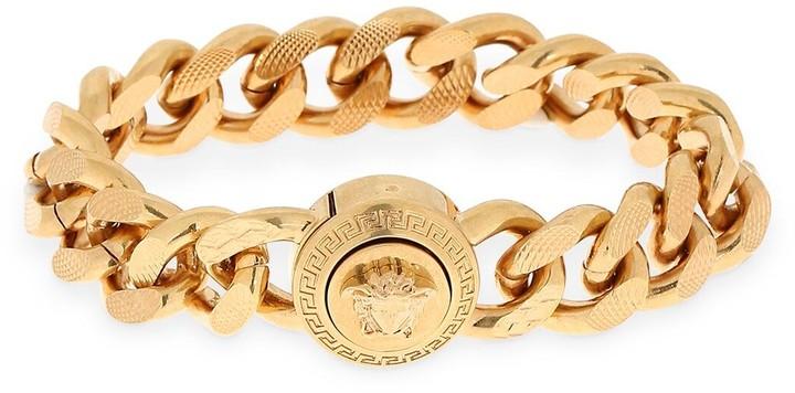 94f4fbc5e9f694 Men Gold Chain Bracelet - ShopStyle