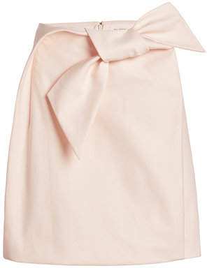 DELPOZO STYLEBOP.com Exclusive Bow Skirt in Cotton