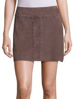Ramy Brook Julana Suede Skirt