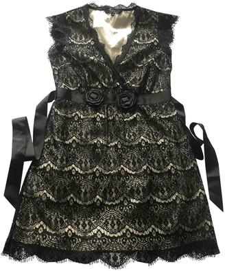 Julien Macdonald Julien Mac Donald Black Lace Dress for Women