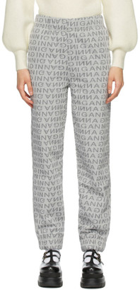 Ganni Grey Isoli Lounge Pants