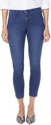 NYDJ Ami High Waist Side Seam Crop Skinny Jeans