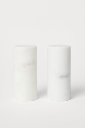 H&M Marble Salt and Pepper Set