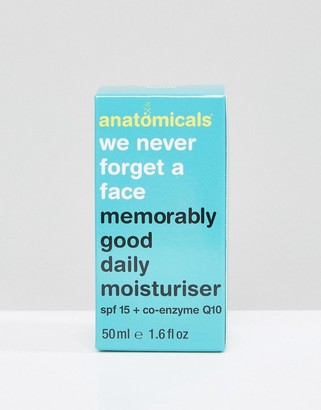 Anatomicals We Never Forget A Face - Memorably Good Daily Moisturizer SPF 15 50ml-No Color