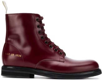Common Projects Lace Up Combat Boots