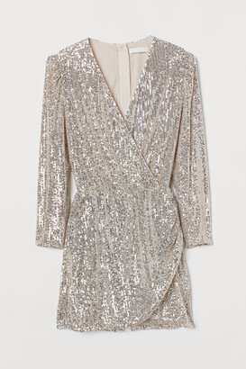 H&M Sequined playsuit