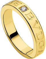 Bvlgari 18kt yellow-gold and diamond ring
