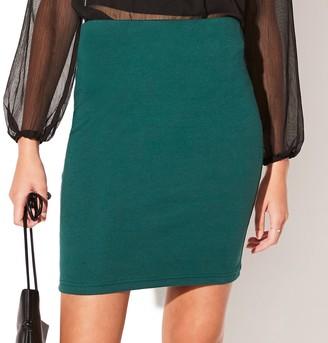 Juniors' Vylette Simple Bodycon Skirt