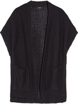 Theory Fremont Ibisco knitted cotton cardigan
