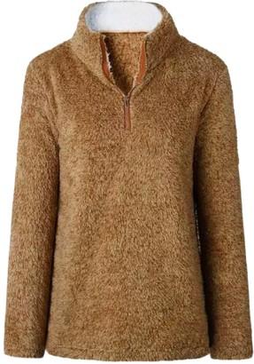 Goodnight Macaroon 'Tabby' Fleece Half Zip Pullover (4 Colors)