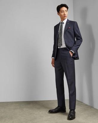 Ted Baker Debonair Subtle Check Wool Trousers