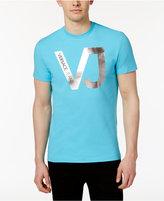 Versace Men's Foil Print T-Shirt