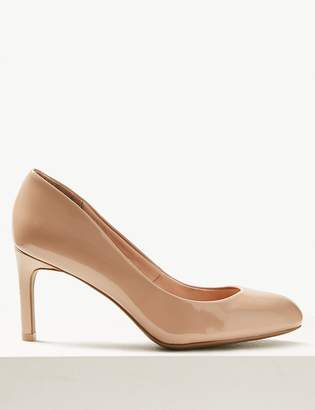 M&S CollectionMarks and Spencer Stiletto Heel Almond Toe Court Shoes