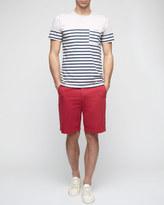 Fine Cotton Twill Garment Dye Shorts