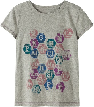 Peek Aren't You Curious Periodic Table Graphic Tee
