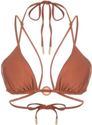 Cult Gaia Sloane bikini top