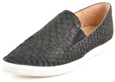 All Black Fish Scale Shoe