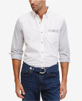 Nautica Men's Colorblocked Slim Fit Oxford Shirt