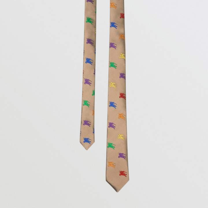 Burberry Slim Cut EKD Silk Tie