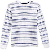Epic Threads Boys' Long-Sleeve Stripe Thermal Shirt, Only at Macy's