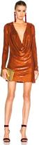 Ashish Drape Front Mini Dress
