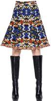 Andrew Gn Wool Jacquard Skirt