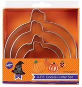 Wilton 4 Piece Nesting Cookie Cutter Set - Pumpkin