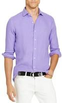 Polo Ralph Lauren Linen Classic Fit Button Down Shirt