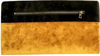 Gisy Gold & Black Velvet Clutch