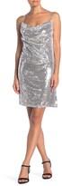 KENDALL + KYLIE Sequin Tie Back Mini Dress