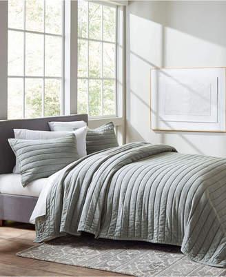 ED Ellen Degeneres Ellen Degeneres Marmont Celadon Quilt, Full/Queen Bedding