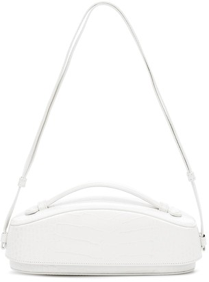 Low Classic Structure leather shoulder bag