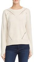 Aqua Sophia Drop Stitch Crewneck Sweater - 100% Exclusive