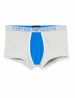 Emporio Armani Men's Fashion Waistband - Color Block Trunk Swim