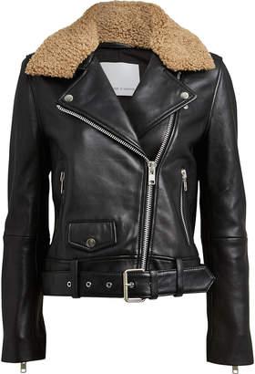 Samsoe & Samsoe Samsøe Samsøe Doris Leather Moto Jacket