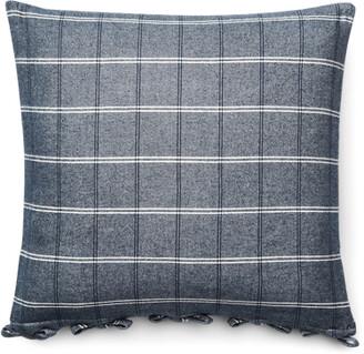 Ralph Lauren Eva Windowpane Throw Pillow